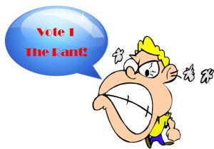 Vote the rant